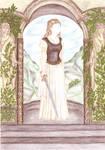 Bernadett's Secret Wardrobe - Eowyn brown-white by maya40