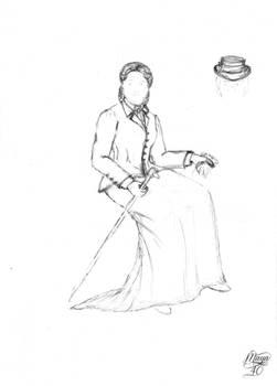 Delphine Secret Wardrobe - Riding dress