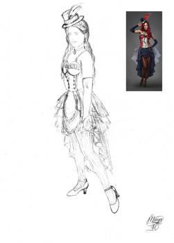 Melinda's secret Wardrobe - Nigtingale