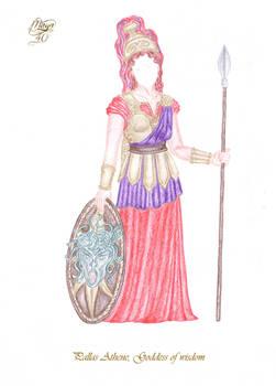 Anna's Secret Wardrobe - Pallas Athene