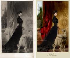 Empress Elisabeth - postumus portrait