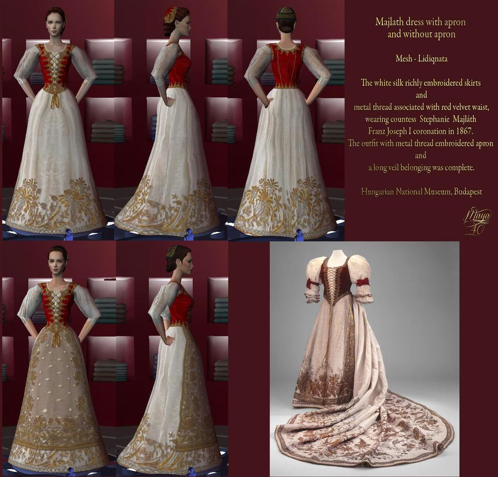 White tudor apron - Tudor Dresses Again Only Some Of The Many Dresses