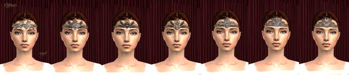 Headband tiara - Wolfs