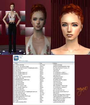 Female Sim model