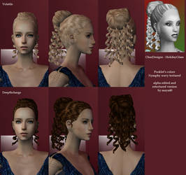 Holiday Glam - Alpha edited and retextured hair by maya40