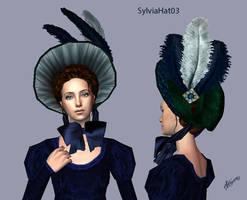SylviaHat03 regency-victorian hat