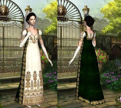 English court ensemble  - Regency dress