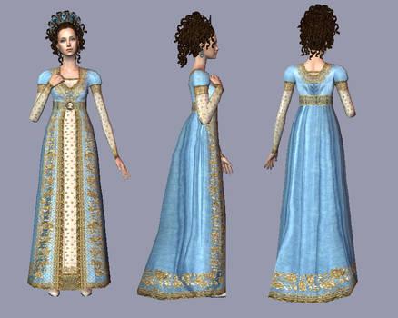 LaTulipe - Regency court dress