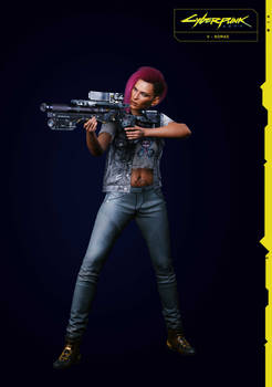 Nomad V (Female) 2 From Cyberpunk 2077