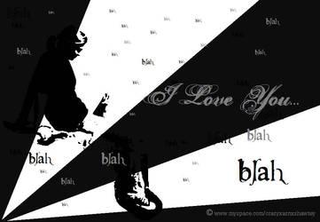 I Love You Blah by pnchhoeun