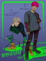 Taegi Combo [BTS] by mythliker