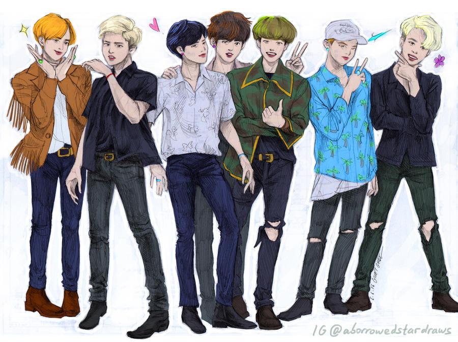 Band of Brothers [BTS] by mythliker on DeviantArt