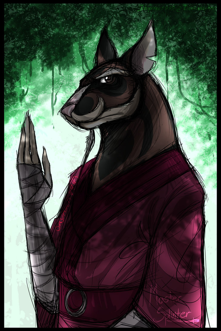 Master Splinter by skyrore1999