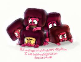 Ruby Pile! by SkyroreDraws