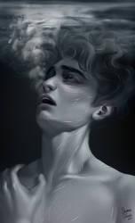 Exhale by SkyroreDraws