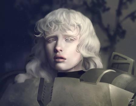 Cal 141 - Halo Legends Portrait by SkyroreDraws