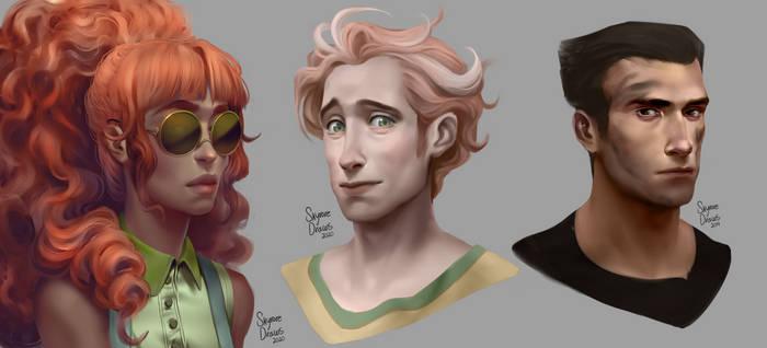 Portrait Study Batch 2
