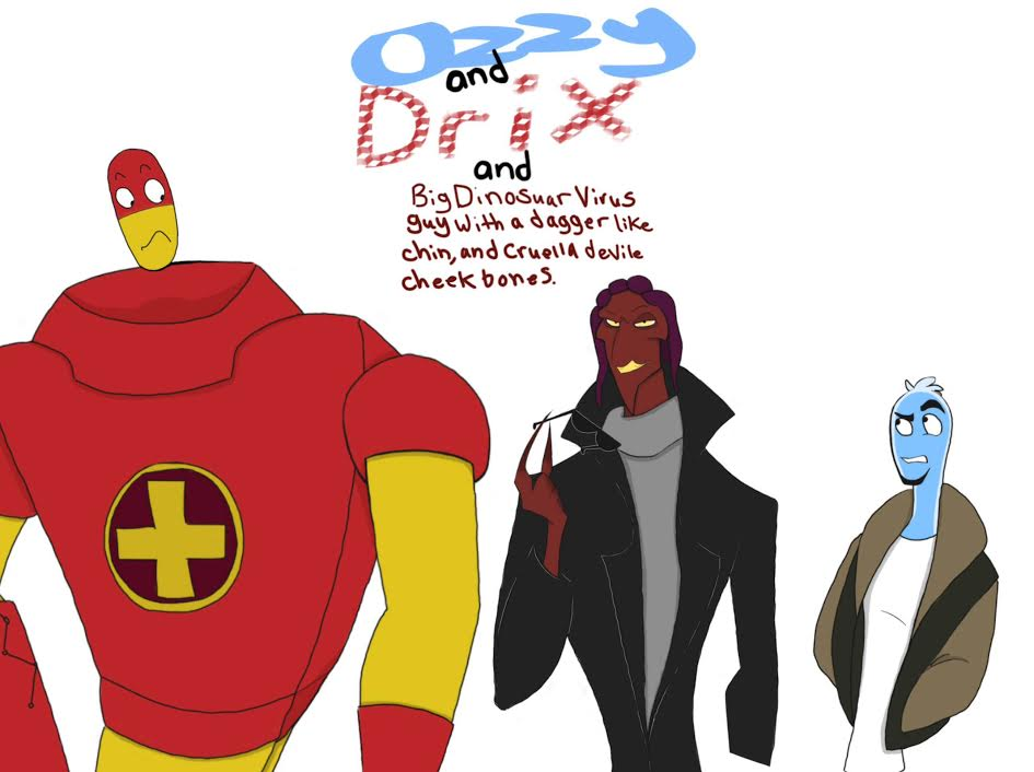 Ozzy And Drix Hector OZZY  DRIX AND    this guy  by