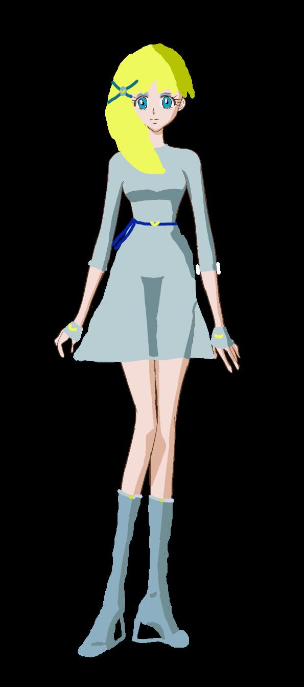 Kuko Senshi Form by ShadowButterflyPenta