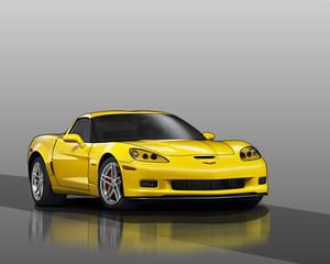 Corvette Z06 Vector