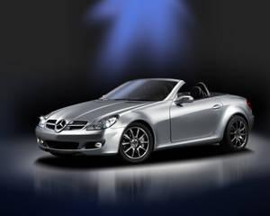 Mercedes SLK Airbrush