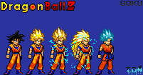 Goku Transformations V1 By Omegagod4 by Omegagod4