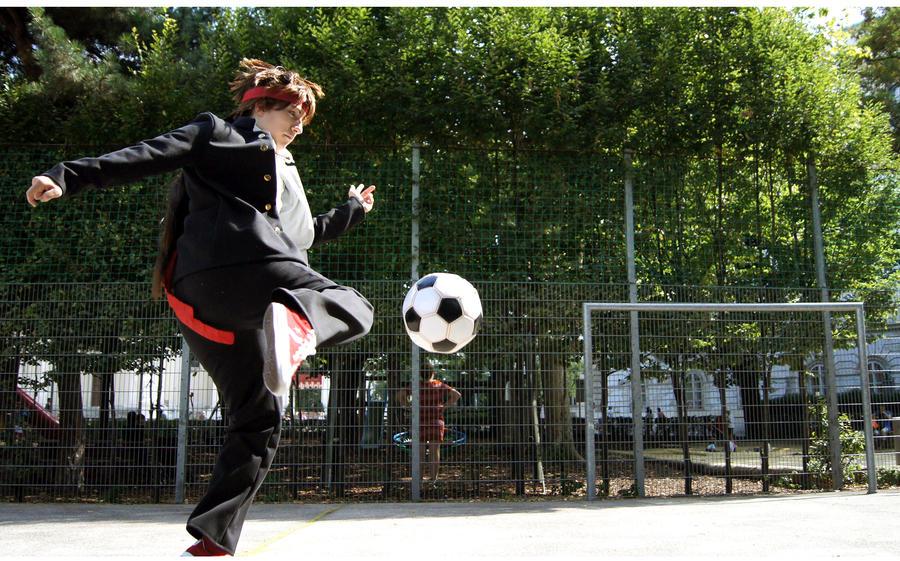 kick it like... by la-SED
