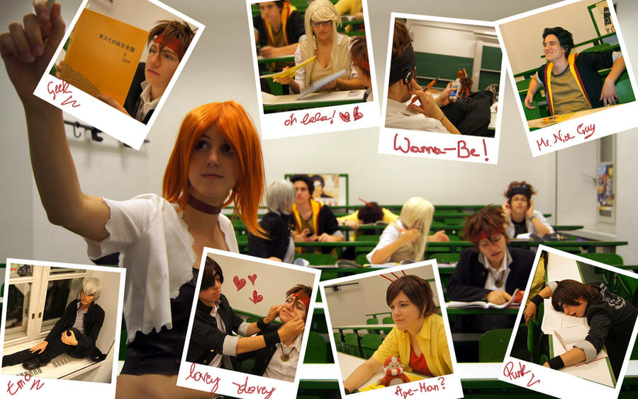 classroom chaos by la-SED