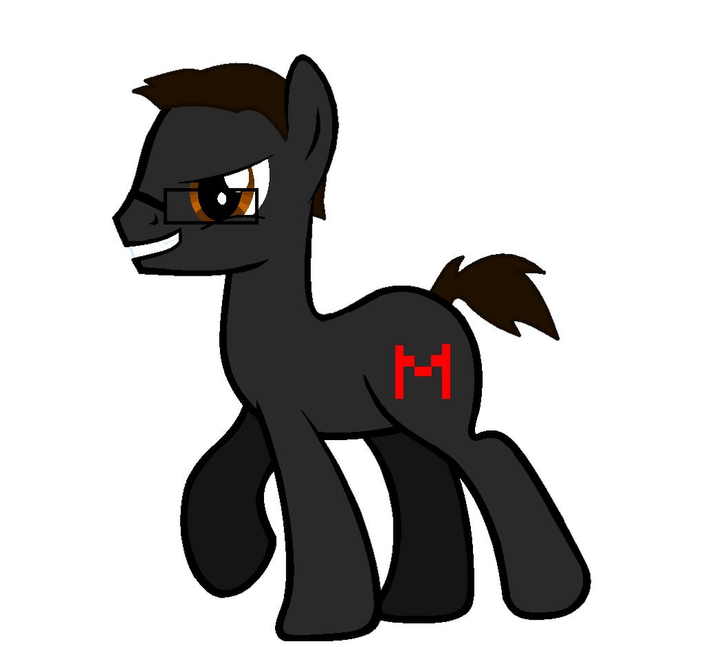 Markiplier Pony by demonicpegasusYamimash Pony