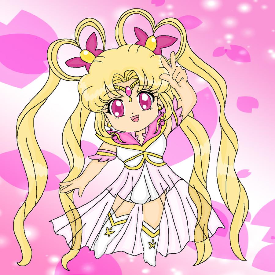 Giftart- Sailor Serenity by MahouChikara