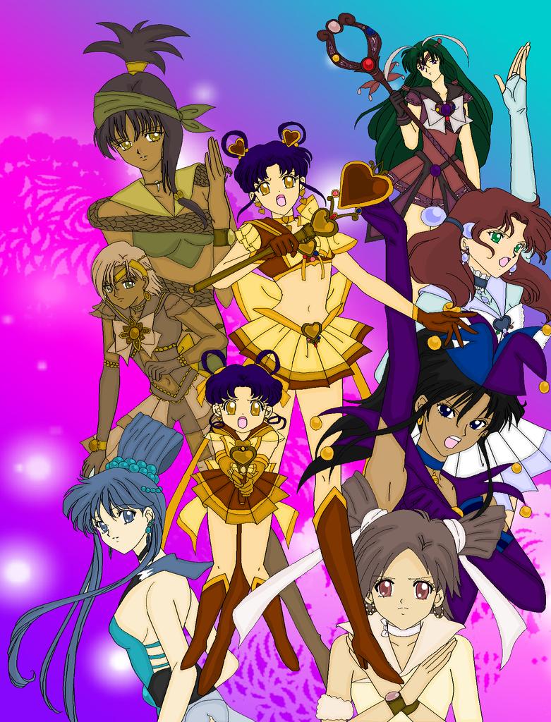 Otaku Senshi Group by MahouChikara