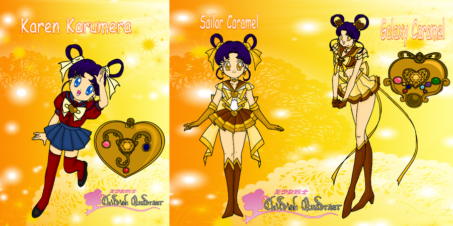 CQ: Karen and Sailor Caramel by MahouChikara