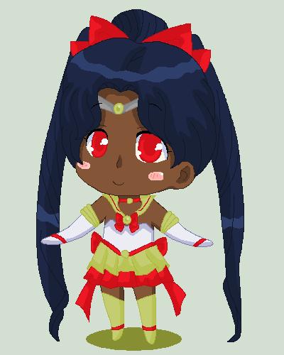 Christmas Chibi: Sailor Rue by MahouChikara