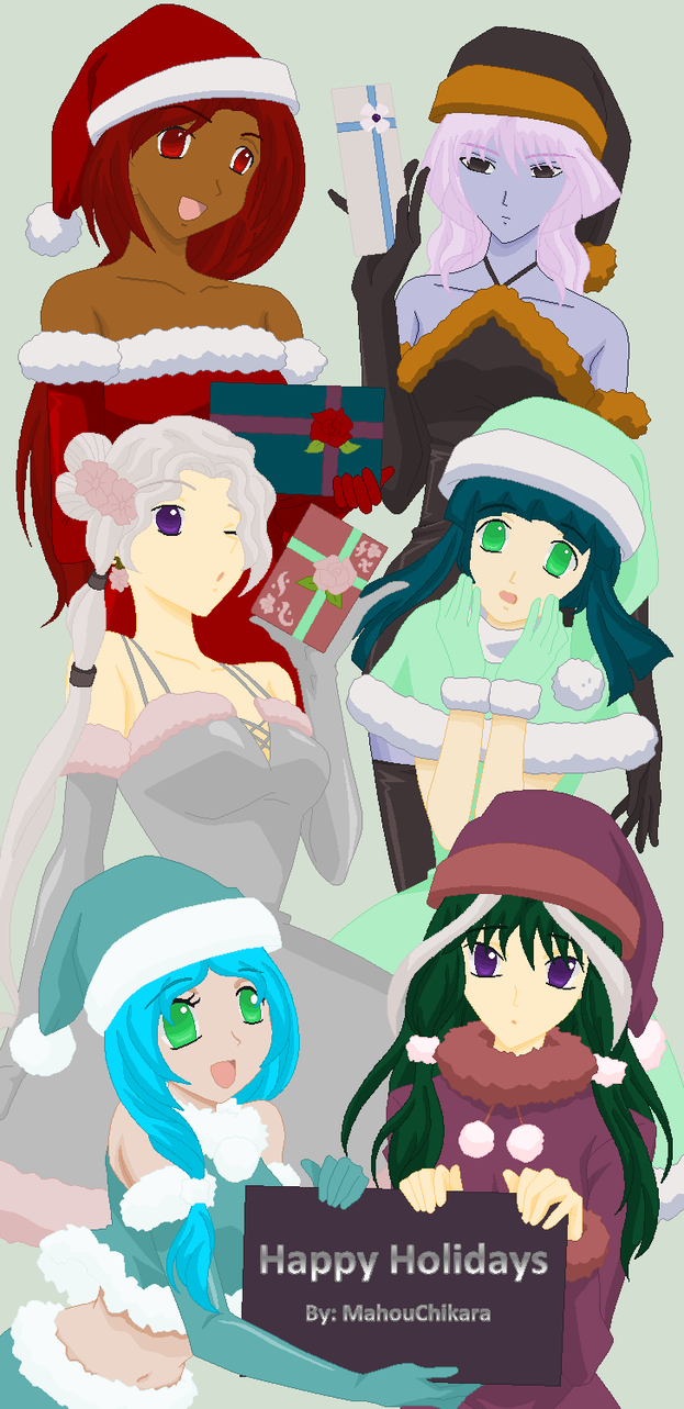 Happy Holidays 2012 by MahouChikara