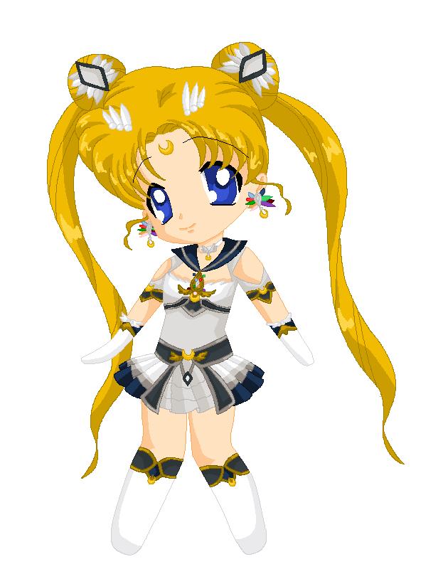 Chibi: Brillare Sailor Moon by MahouChikara