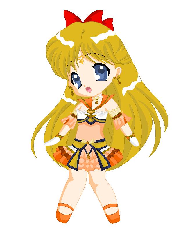 Chibi: Brillare Sailor Venus by MahouChikara