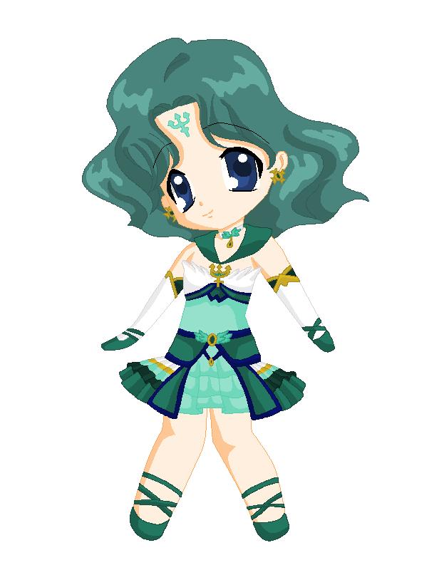 Chibi: Brillare Sailor Neptune by MahouChikara