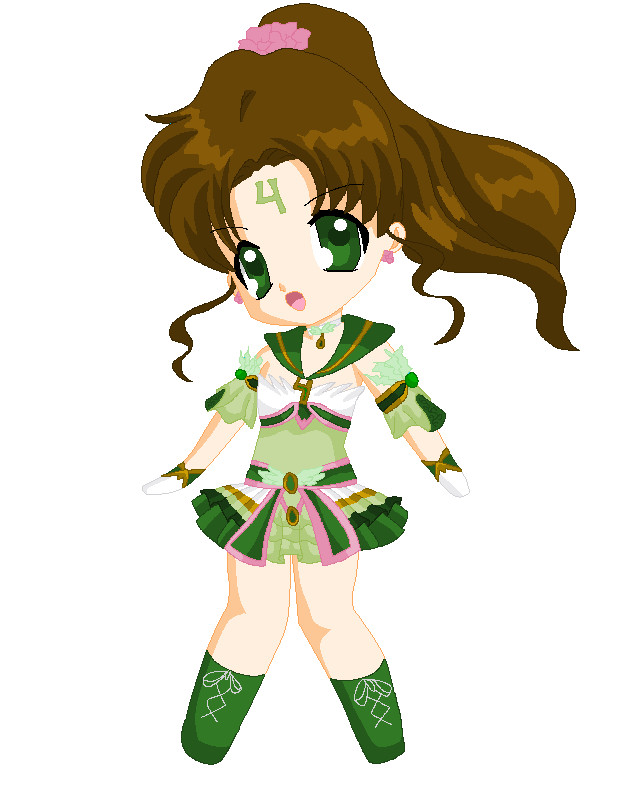Chibi: Brillare Sailor Jupiter by MahouChikara