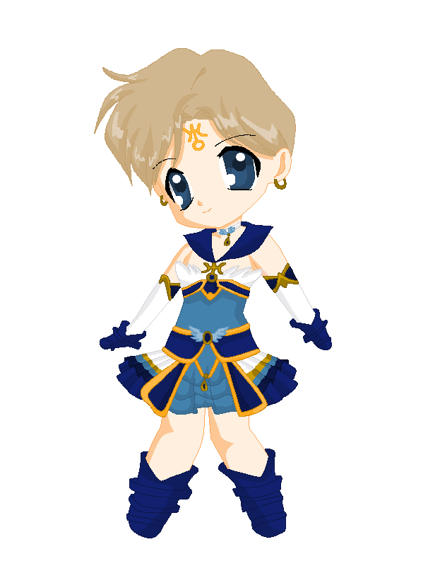 Chibi: Brillare Sailor Uranus by MahouChikara
