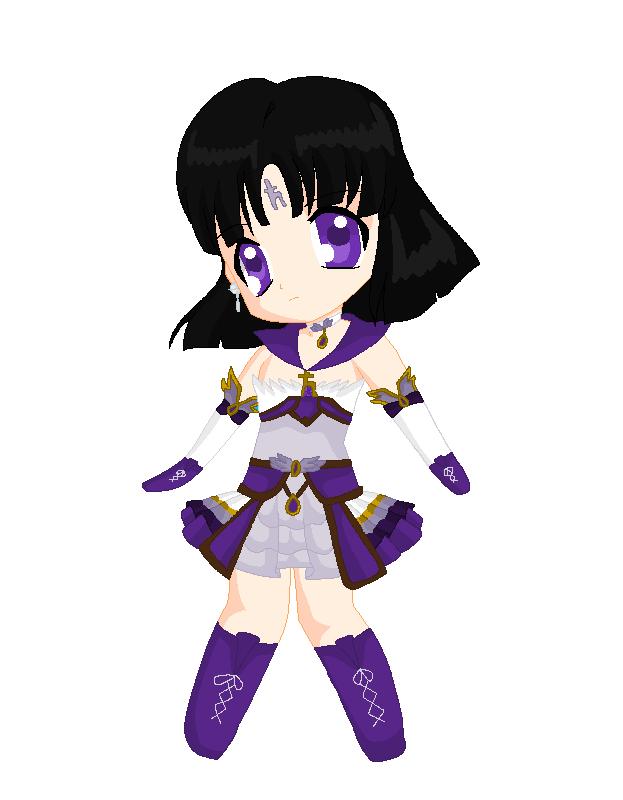 Chibi: Brillare Sailor Saturn by MahouChikara