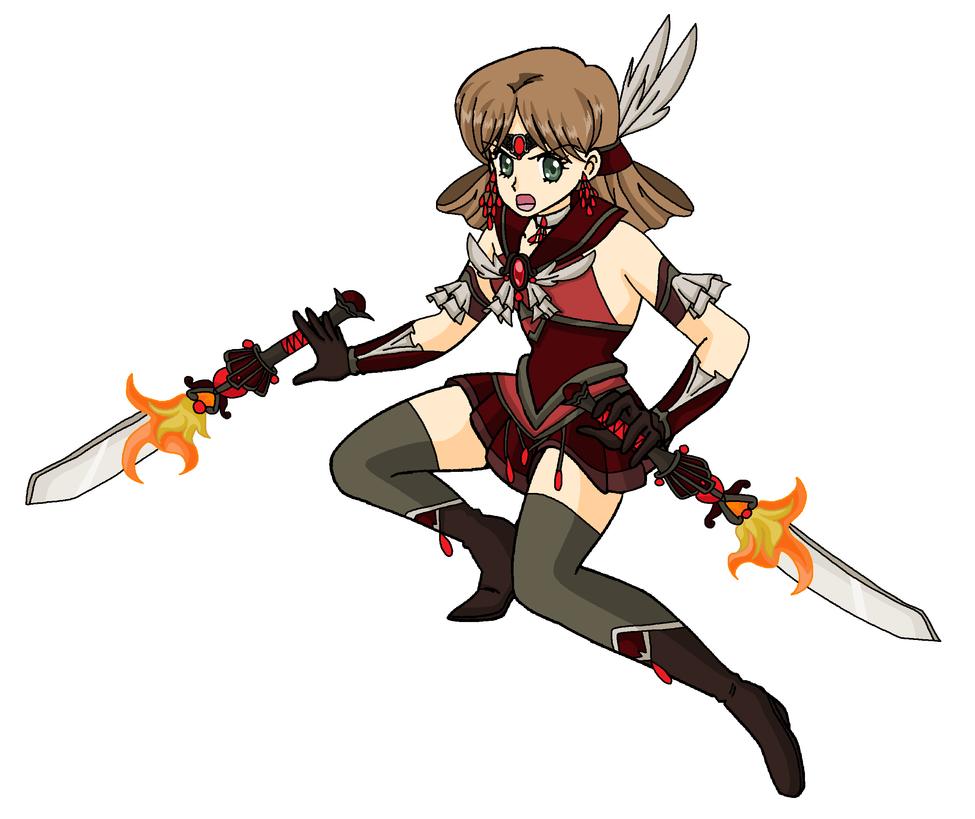 Superu Soldier: Sailor Teikaen by MahouChikara
