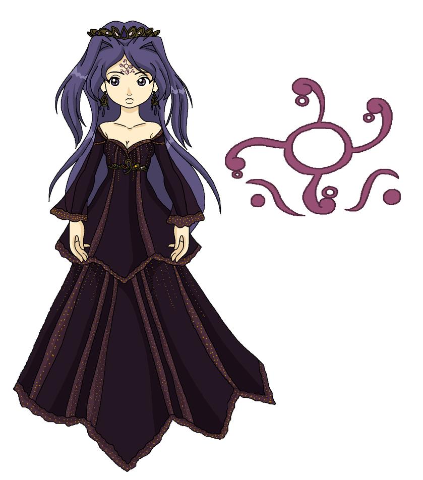 Reference: Princess Iathea by MahouChikara