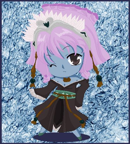 Chibi: Lady Glace by MahouChikara