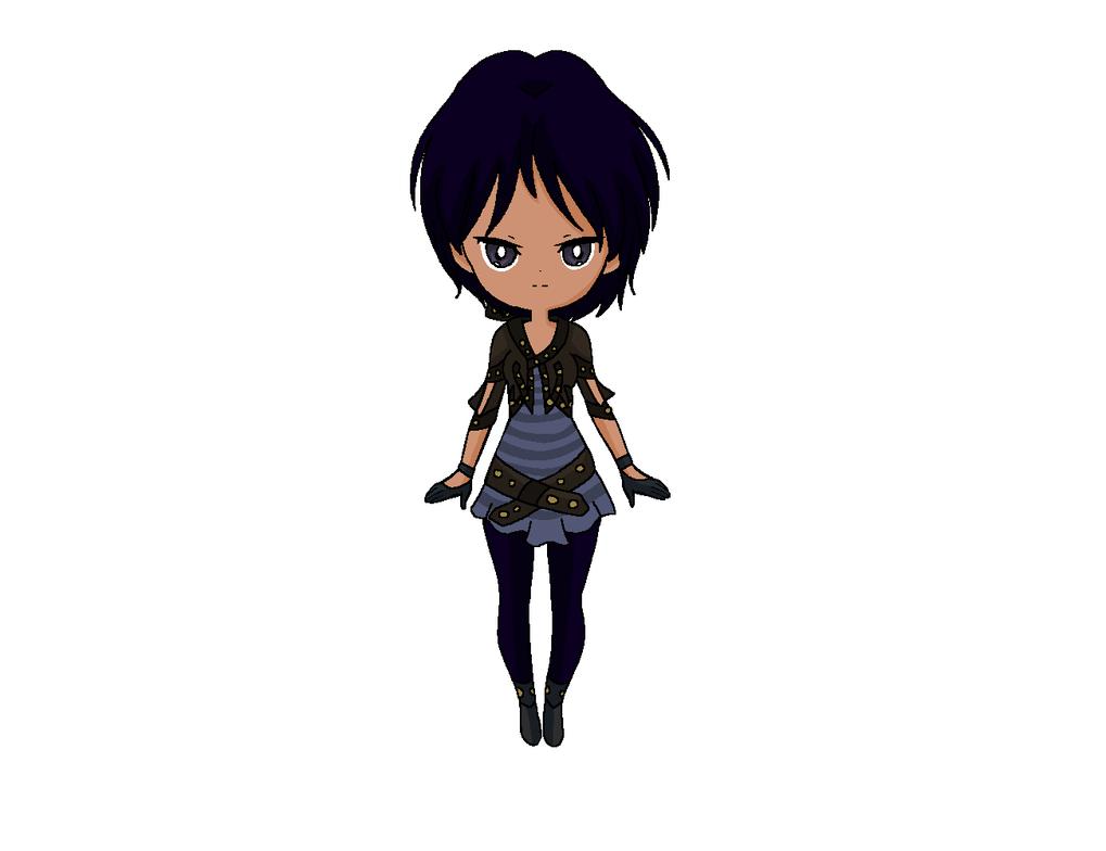 Chibi: Casual Wear2 Mukeiko by MahouChikara