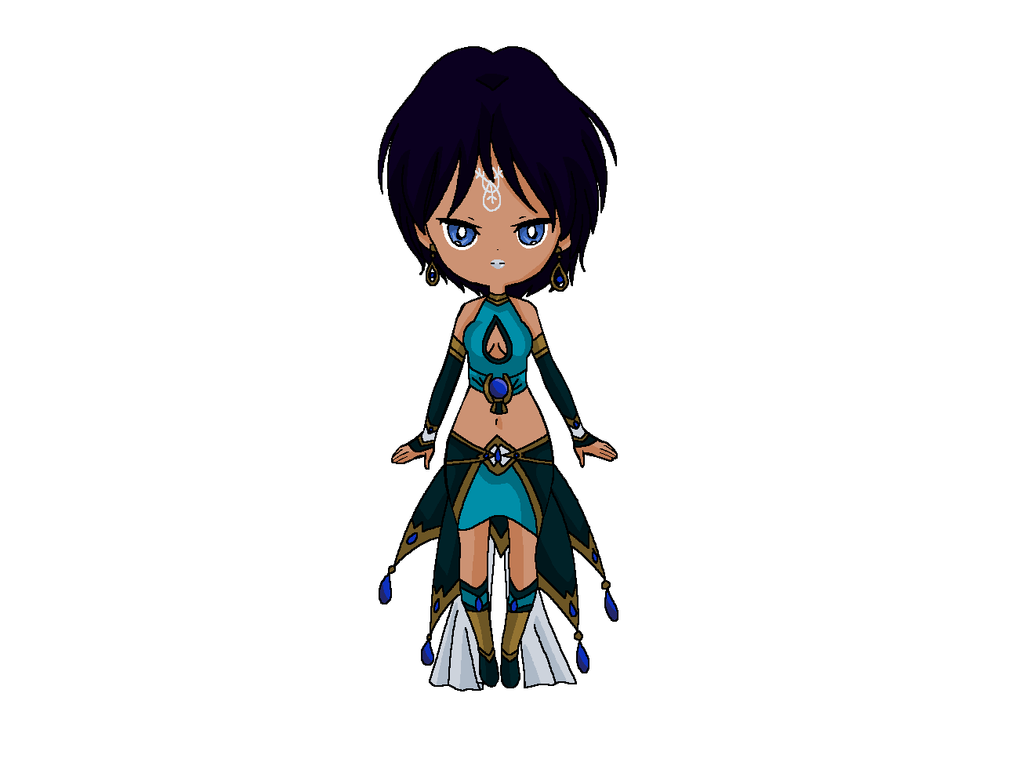 Chibi: Princess Urra by MahouChikara