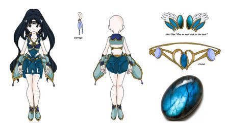 {Sailor Soldier Reference} Sailor Runia by MahouChikara