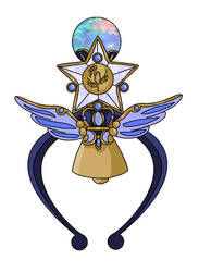 Anjera Regal Astral Bell by MahouChikara