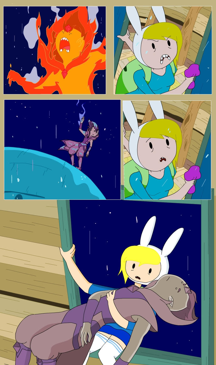 Adventure Time Flame Prince Comic Fionna and Cake: Incen...