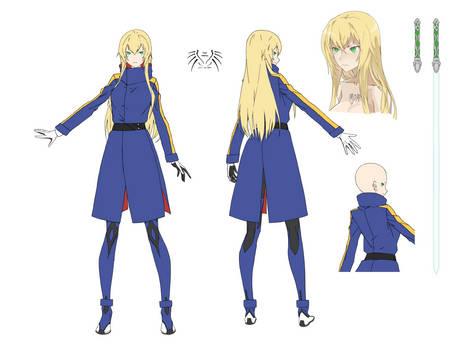 Rin Kisaragi (w/ longcoat)