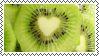 heart kiwi by omnivore-daydreams